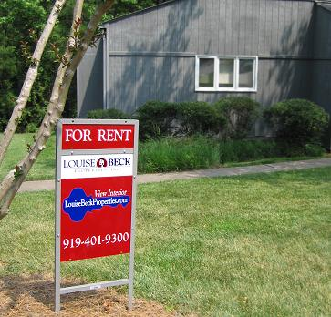 Fore rent signage